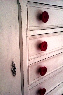 Detail of sideboard